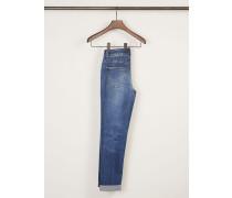 Skinny-Jeans 'Pearlie' Mittelblau