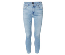 Skinny Jeans 'Rocket High Rise' Hellblau