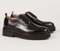 Leder Boots 'Kingston' Schwarz
