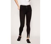 Jeans 'Le High Skinny' Schwarz
