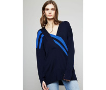 Wollpullover 'Grace' Navy