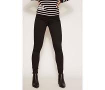 Skinny Jeans 'Slim Illusion' Schwarz