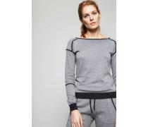 Leichter Pullover Grey Melange