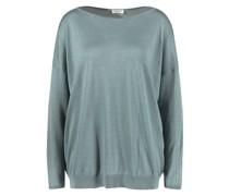 Cashmere-Seiden-Pullover Salbei