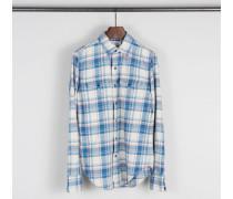 Baumwoll-Hemd mit Karomuster Multi