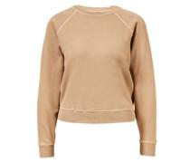 Baumwoll-Sweatshirt Braun