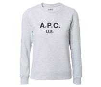 Sweatshirt ' US' Graumélange