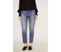 Jeans 'Le Boy' Mittelblau
