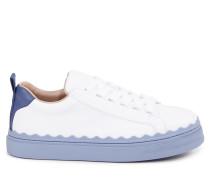 Sneaker 'Lauren' Weiß/Blau