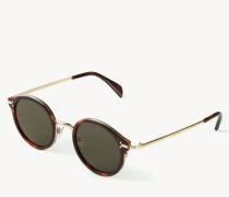 Runde Sonnenbrille 'Joe' Hornoptik
