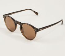 Sonnenbrille 'Gregory Peck' Braun