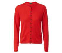 Cashmere Cardigan 'Louise' Rot