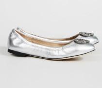 Ballerina 'Liana Ballet Flat' Silber