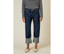 Boyfriend Jeans 'Phoebe' Blau - 100% Baumwolle