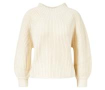 Cropped Pullover 'Merel' Crème