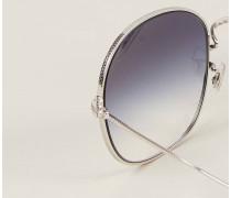 Sonnenbrille 'Mehrie' Silber/