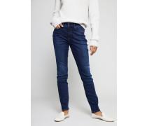 High Rise Jeans 'Jenice' Blau