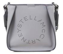 Umhängetasche 'Small Hobo Eco Soft Alter Mat' mit perforiertem Logo