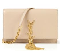 Umhängetasche 'Monogramm Kate Small' mit Quaste Puder/Gold