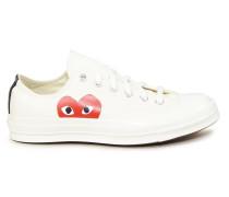 Sneaker 'Converse Chucks Low' Weiß/Rot