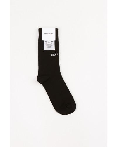 Socken mit -Logo Schwarz