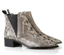 Spitze Boots 'Jensen' in Schlangen-Optik Multi