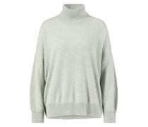 Cashmere-Rollkragen-Pullover /Grau