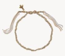 Armband 'Lucky Bracelet' 18 Kt. Gelb- und Weißgold