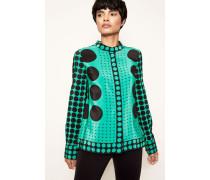 Bluse 'Button Down Shirt' Brunel Evergreen