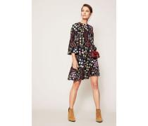 Kleid mit floralem Print Multi
