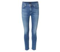 Skinny Jeans 'Rocket' mit Auswaschungen Mittelblau