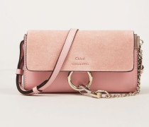 Schultertasche 'Mini Faye on Strap' Washed PInk