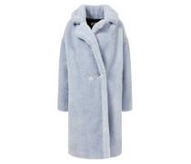 Oversized Fake Fur Mantel