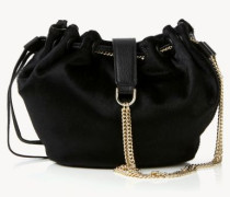Bucket Bag 'Drawstring Mini' Schwarz