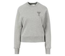 Baumwoll-Sweatshirt Grau