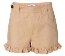 Baumwoll-Culotte-Shorts Phillips' Beige
