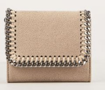 Kleines Portemonnaie 'Small Flap' Beige