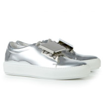Sneaker 'Adriana Turn up' Silber