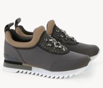 Sneaker 'Rosas Embellished' Grau/Multi