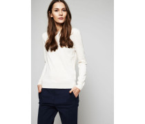 Cashmere-Pullover Ivory