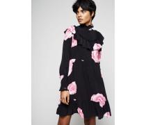 Midi-Hängerkleid 'Fayette Silk Dress' Multi