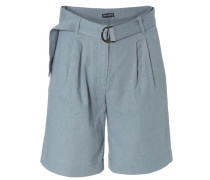 Leinen-Shorts 'Pam' Taube