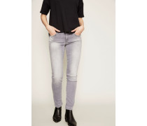Jeans 'Pyper' im Destroyed-Look Grau