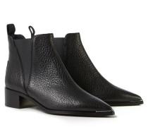 Spitze Boots 'Jensen' Schwarz
