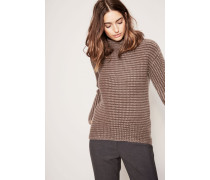 Cashmere-Pullover 'Sabine' Taupe