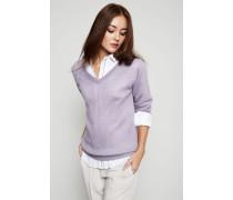 Pullover mit Glitzerfadeneffekt Purple