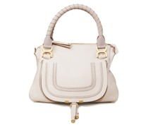 Handtasche 'Marcie Medium' Abstract White