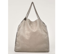 Handtasche 'Falabella Large' Light Grey