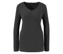 Cashmere-Pullover 'Esmee' Dunkelgrau
