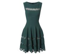 Tailliertes Kleid Grün